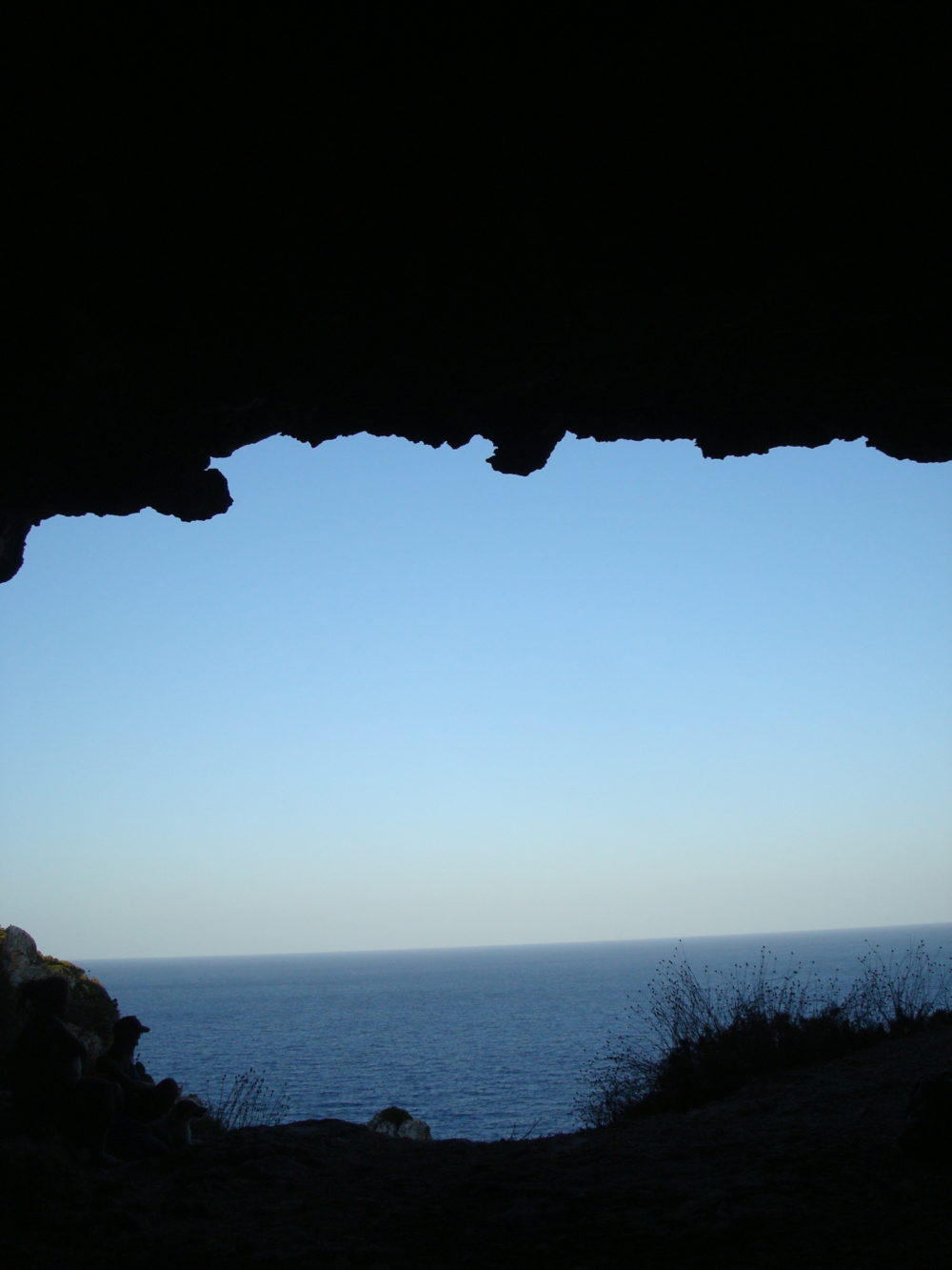 vista da Cava D'Estrips alla Mola di Formentera