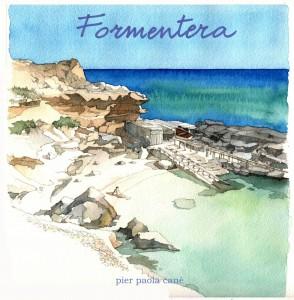 Copertina del libro di acquerelli di Pier Paola Canè