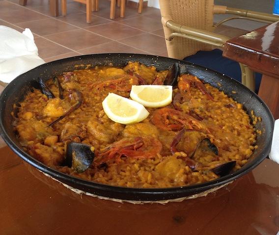 Paella a Formentera