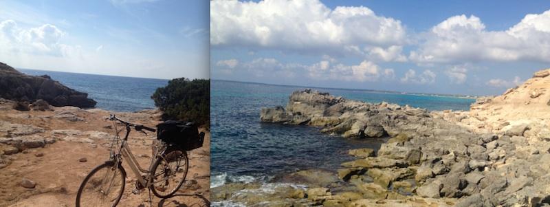 La Mola bike Formentera