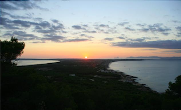 Formentera vista dall'alto