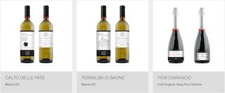 Alcuni vini prodotti dal Filò